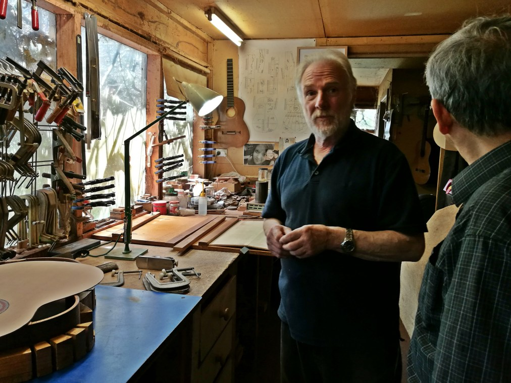 Richard Howell, Luthier