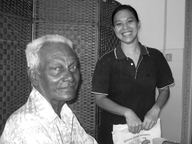 SabahSongs Contemporary Music in Sabah book written by Joanna Funk DatuK Peter Pragas Malaysian composer musician pianist RTM Filem Malaysia, Datuk Peter Pragas