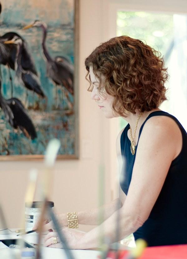 Susan Fine – Artist Branding Portraits