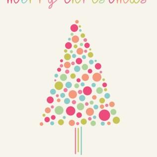 christmas tree bright
