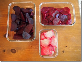 An abundance of beets - Copyright Jo-Ann Blondin