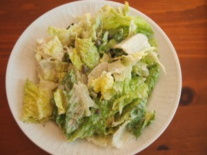 Tasty Ceasar Salad - a delicious gluten-free, dairy-free salad
