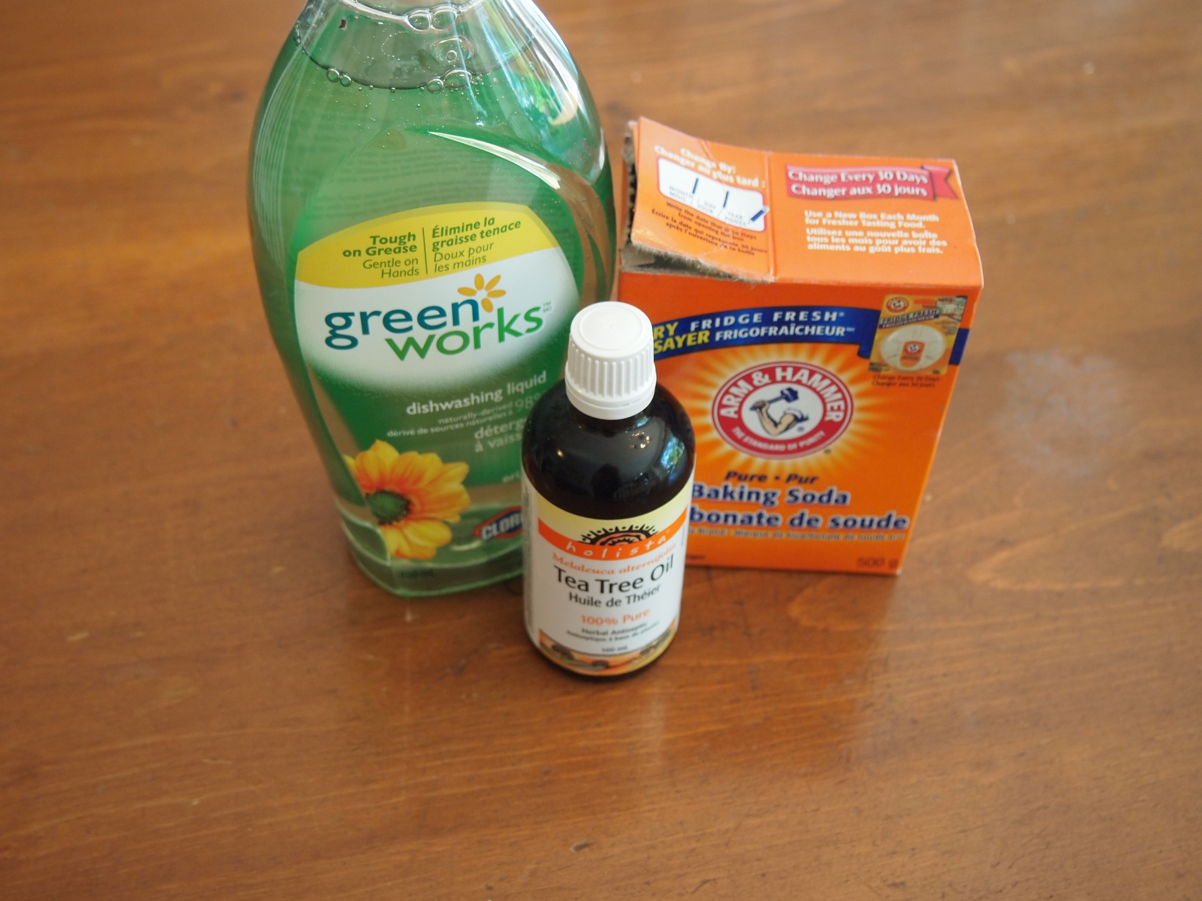 Homemade Greener Cleaner - A Green Solution To Cleaning Supplies