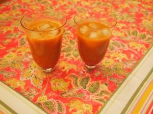GinCarCu - a refreshing juice