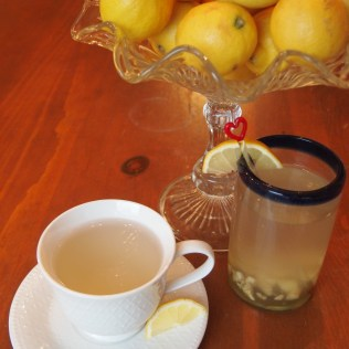 Ginger Tea Two Ways - image copyright Jo-Ann Blondin 9CupChallenge