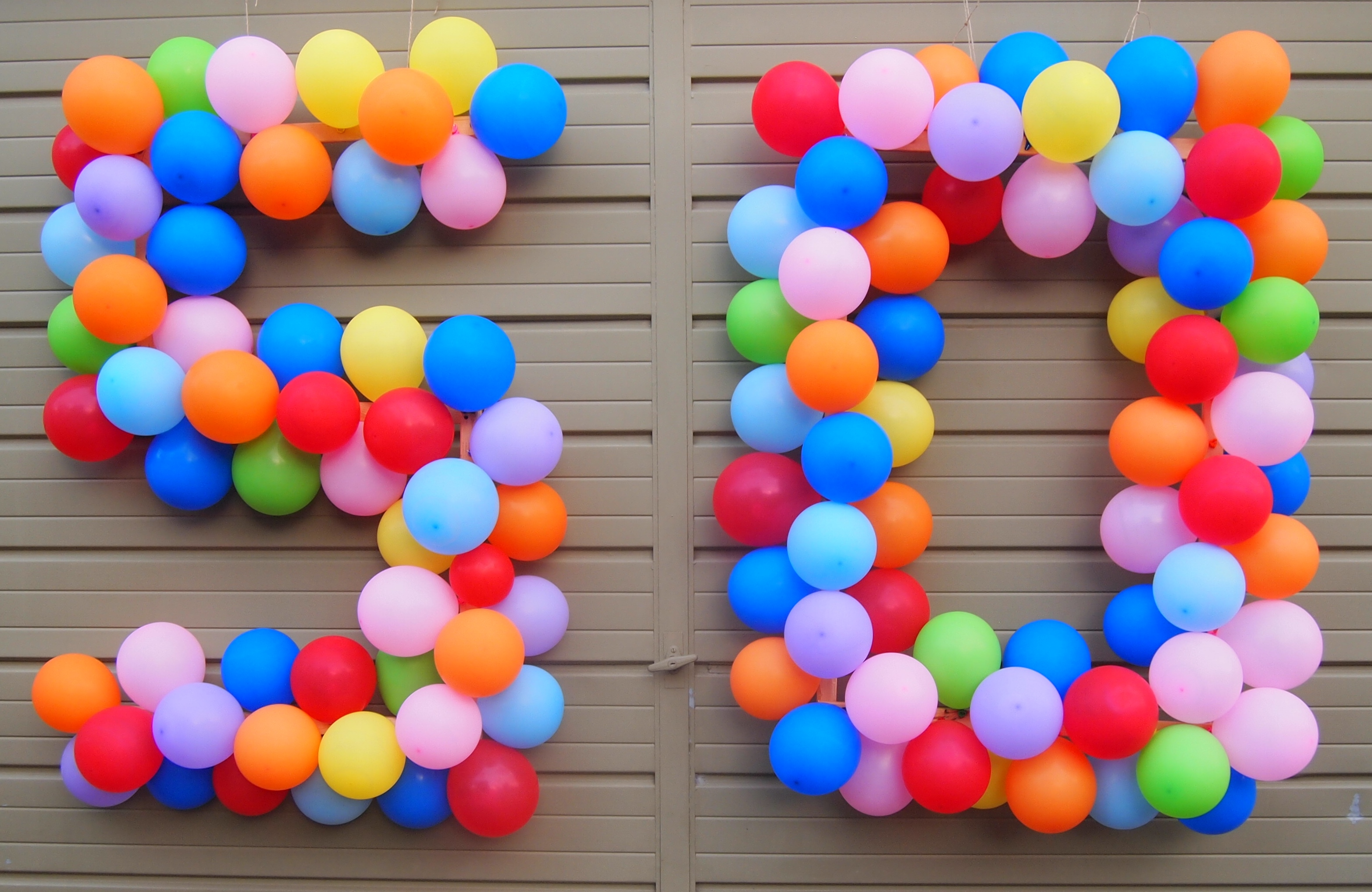 Fabulous At 50 Balloons - Copyright Jo-Ann Blondin