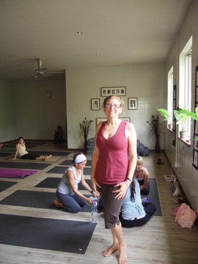 In Malaysia at Upward Yoga Studio in 2012.  Even vacation over seas did not stop me from my practice.  I was blessed to have Ninie Ahmad lead the class.