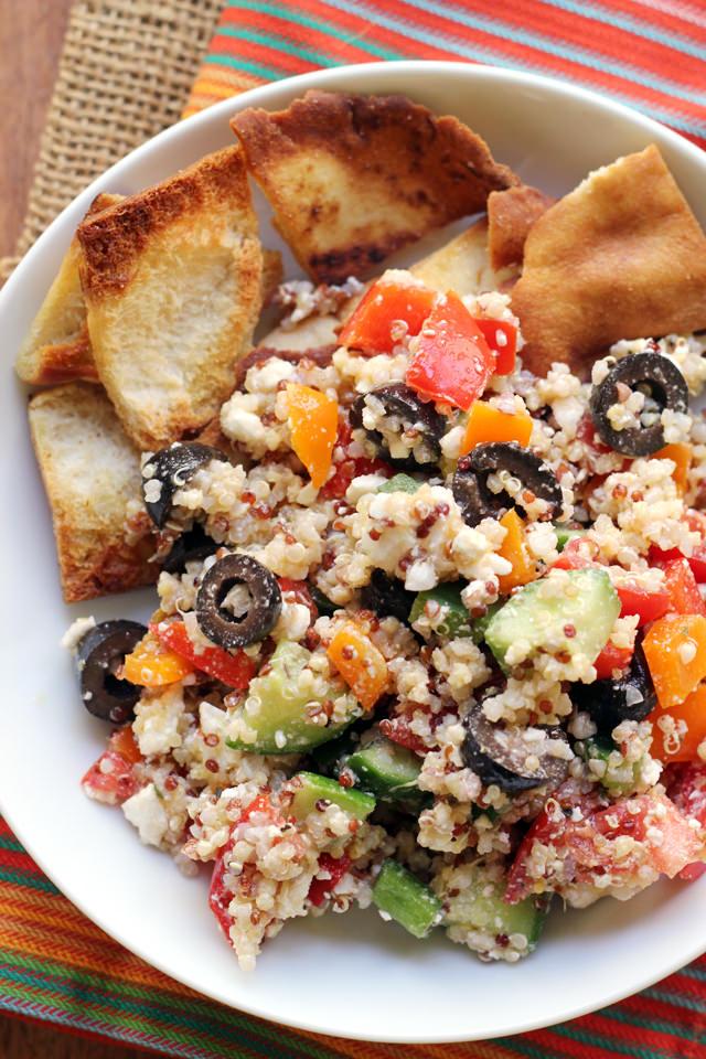 Greek Super Grains Salad