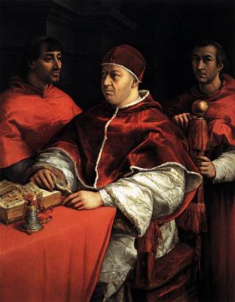 raphael_-_pope_leo_x_with_two_cardinals