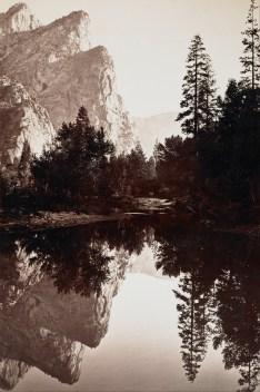 Carleton_E._Watkins_-_Three_Brothers,_Yosemite,_California_-_Google_Art_Project