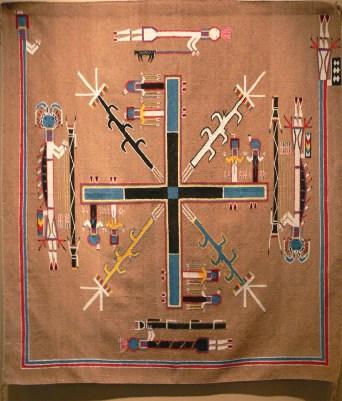 gilcrease_-_navajo_sandpainting_rug-2