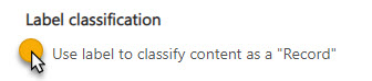 ClassifyAsRecord