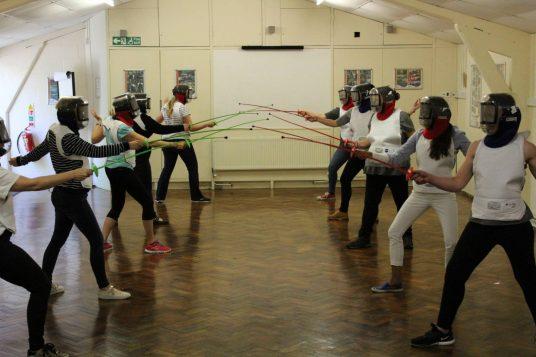 team fencing self-employed socials
