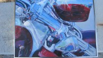 painting - motorcycle - finished 001