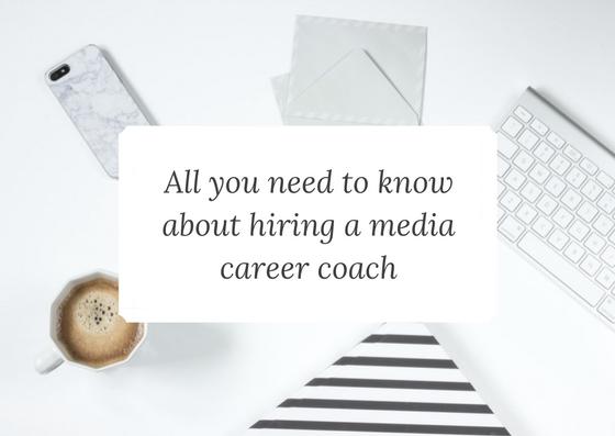 media career coaching info