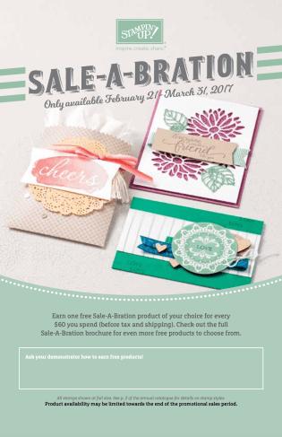 2017 SaleaBration Additional
