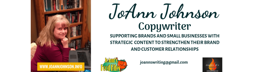 JoAnn Johnson Copywriter
