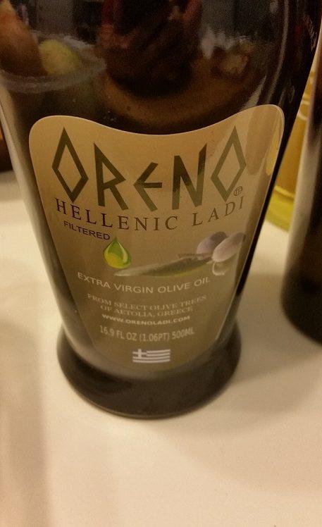 Oreno Olive Oil