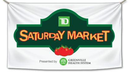 Greenville south carolina saturday farmer's market banner