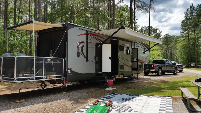 forest river vengeance toy hauler camper