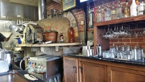 Whistle Stop Cafe pizza oven