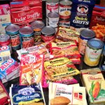 Processed Food available in supermarkets