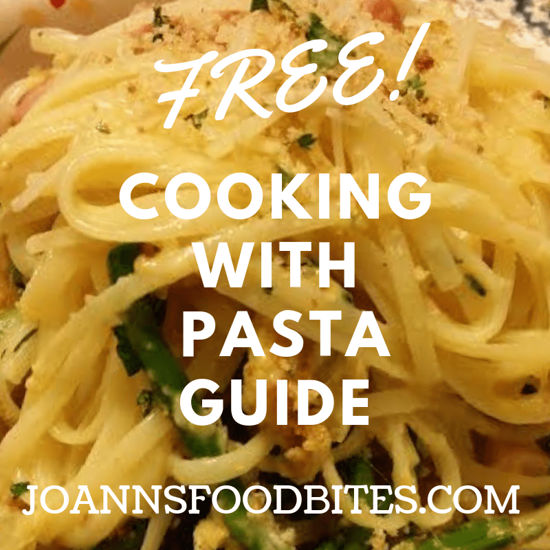 Free cooking with pasta guide
