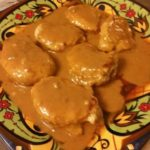 Pork Medallions with a mustard gravy recipe