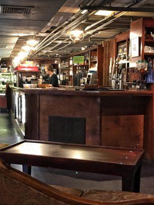 Coffee Underground interior