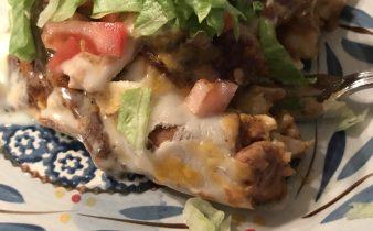 Chicken Enchiladas for Two