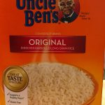 Uncle Ben's White Rice for pork and rice recipe