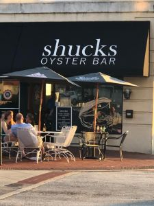 Shuck's Oyster Bar Sign