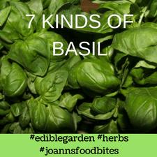 7 Kinds of Basil JoAnn's Food Bites