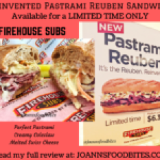 Reinvented Pastrami Reuben Sandwich Firehouse Subs