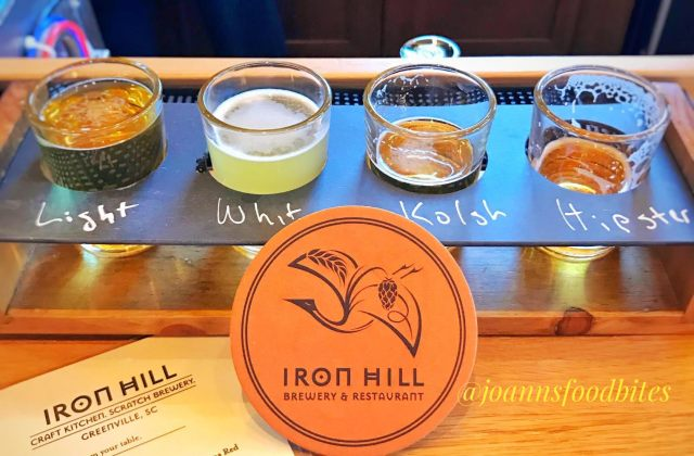 Iron Hill Brewery Greenville Beer Sampler