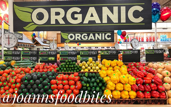 Organic Vegetables at Sprouts/JoAnn's Food Bites