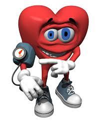 heart taking blood pressure