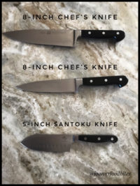 Favorite Large knives