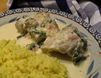 Tuscan Chicken in a creamy sauce