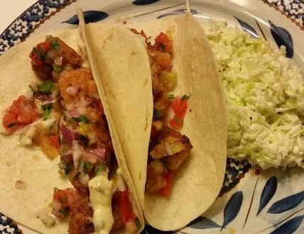 100 Days of Real Food Fish Taco Recipe