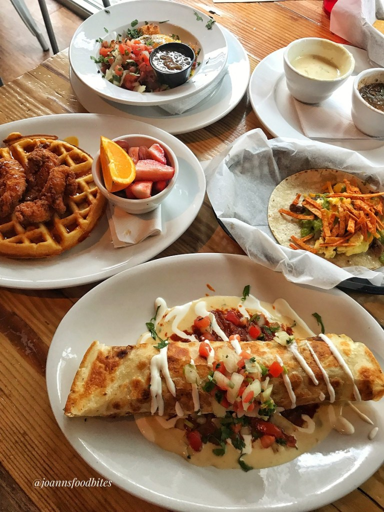 Brunch menu at Cantina 76 Greenville