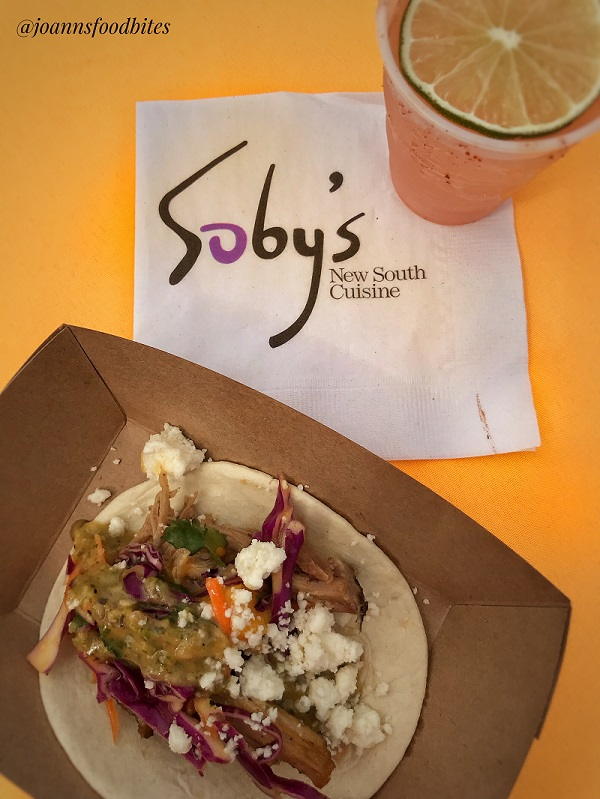 Bohemian Cafe's Taco and Soby's Tequila entry