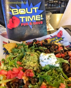 Loaded Nachos at Bout Time Pub and Grub