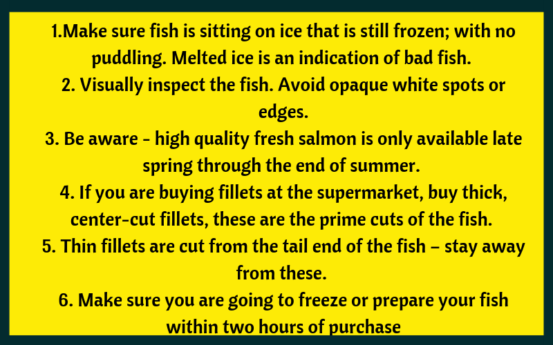 tips for buying salmon