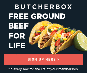 Free Ground Beef for Life Butcher Box