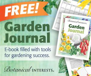 Garden Journal promo picture