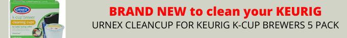 Keurig K-Cup cleaning cup promo