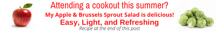 Promo banner for Apple & Brussels Sprout Salad