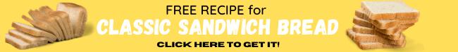 free classic sandwich bread recipe promo