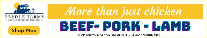 perdue chicken promo banner